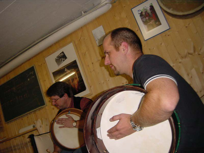 Bodhrán-Workshop 2009